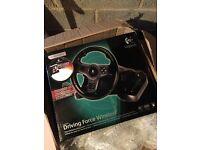 Logitech Driving Force Wireless steering wheel PS3