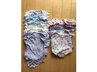 Boys 9-12 month vests