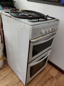 Free LPG Freestanding Cooker - Indesit / White - Witcham