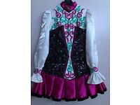 Irish dancing dress for sale only worn 4 times