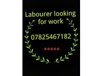 labourer is looking for work