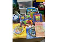 Mixed selection of children's books