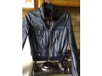 Leather jacket from River island