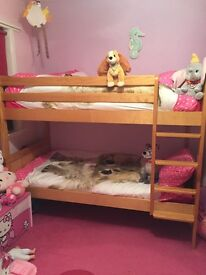 Solid wood bunk beds excellent quality