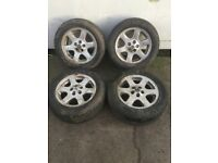 "18"" inch Discovery 2 ""Comet"" Wheels with tyres"