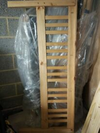 KING size (5' frame) - Solid wood (pine) bed frame - Excellent condition