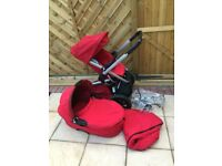 Quenny buzz pushchair/buggy set
