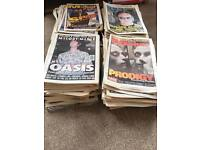 NME and Melody Maker collection 150plus editions from 95-97