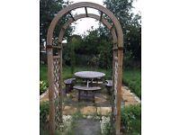 Garden gate/arch