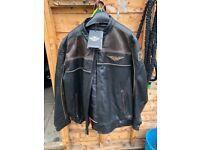 Harley Davidson leather jacket. 53/54 uk