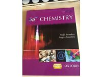 A2 Chemistry Textbook for AQA Oxford Excellent Condition!