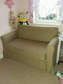 Two-seat sofa bed