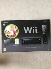 Wii Fit Plus and games