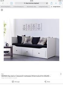 IKEA Hemnes Daybed great condition two mattresses