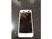Apple iphone 6 16gb unlocked bad condition