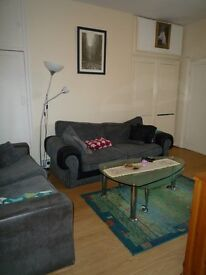 Three bedroom upper floor flat to rent. Available NOW