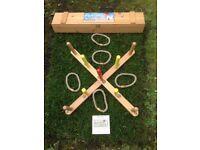 Wooden Quoits and Kids Mini Golf Set (full size)