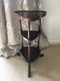 Small 3 Tier Wooden Plant Stand