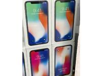 iPhone X 256gb brand new box 1 year apple warranty open on all sim Free screen protector or cover