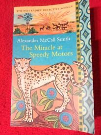 The miracle at speedy motors, the number one ladies detective agency, book