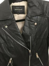 Genuine Ladies Leather Jacket