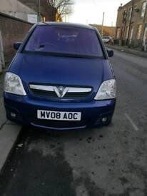 Vauxhall Meriva Breeze plus 1.3cdti