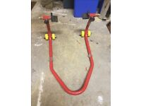 Rear Paddock stand for sale