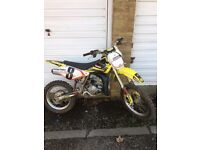 suzuki rm 85,2006 in good cond,,,,readvertized due to waster,,£850,ono
