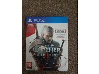 Ps4 game witcher wild hunt