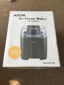 Aicok Ice Cream Maker 1.5L Brand New Never Used
