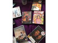 Different DVDs 50p each