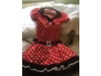 Minnie Mouse dress up outfit women's
