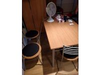 6 ppl wooden dining table for sale