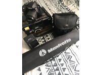 Nikon D3300 DSLR Camera, 18-55mm lense, tripod, waterproof case. Boxed. £280