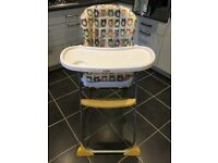 Joie Owl High Chair with removable tray