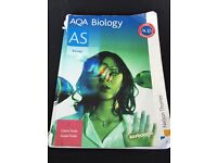 BIOLOGY BOOKS A LEVEL SET OF 5