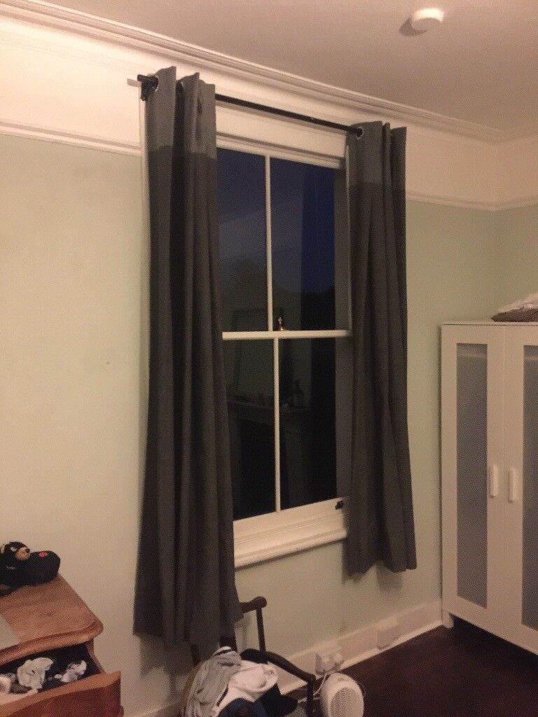 Large curtains