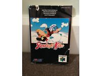 Snowboard Kids Instruction Manual N64