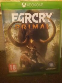 Farcry_primal for xbox one...ALMOST NEW...