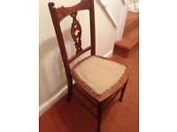 Antique Dining Room Chair