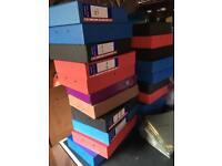 20 A4 box files