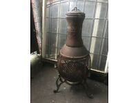 Cast Iron Chimmenea / Patio Heater / Log Burner W/R