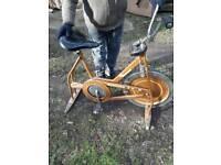 Old exercise bike retro
