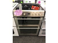STOVES 60CM CEROMIC TOP ELECTRIC COOKER IN SILIVER