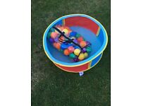 Ball pool with bag of balls good condition from smoke and pet free home £5