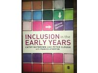 Inclusion in the Early Years Textbook