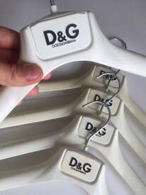 Designer clothes hangers