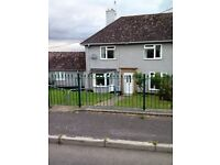 3 Bedroom terraced house for rent with annexe (optional) Large gardens front and rear