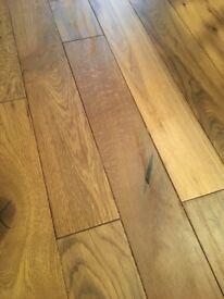 Engineered Wood Flooring, Golden Oak, 13.82 m2