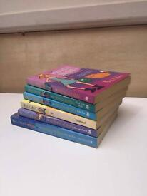 Selection of Princess diary books